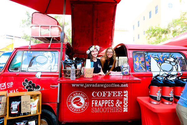 coffee van for corporate events
