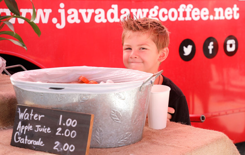 java dawg water stand